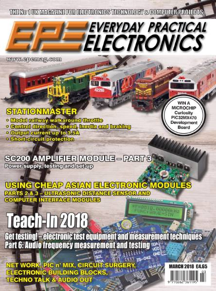Everyday Practical Electronics №3 (March 2018)